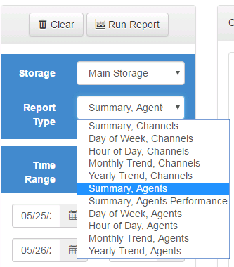 Type of Reports